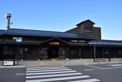 下今市駅舎