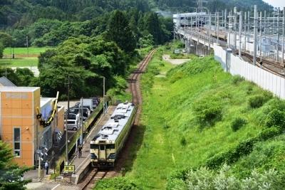 青森行きの津軽線