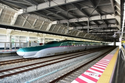 奥津軽いまべつ駅ホーム