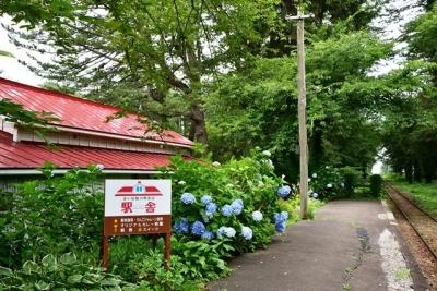 芦野公園駅ホーム