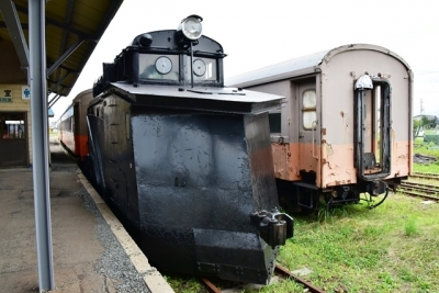 国鉄キ100形ラッセル式除雪車