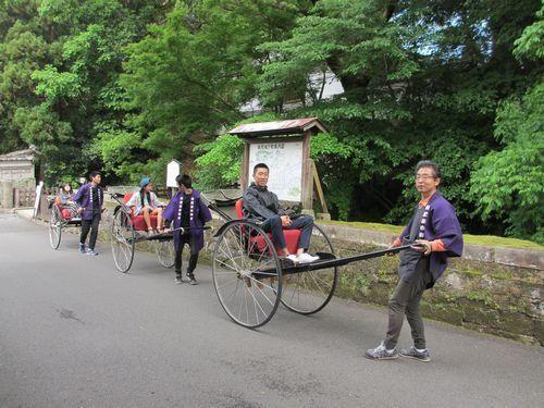 IMG_7660日南高校生人力車ボランティア