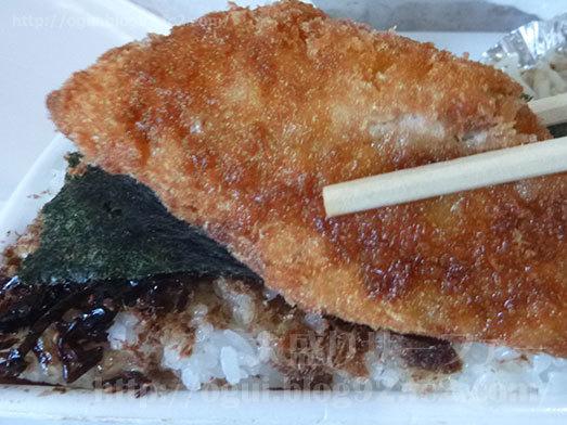 のり弁当大きめサイズな魚フライ034