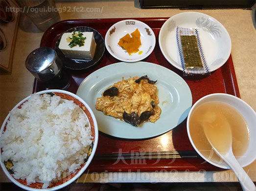 中華食堂一番館の彩り小皿定食085
