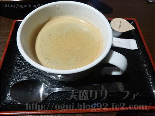 ドリンクバーのホットコーヒー096