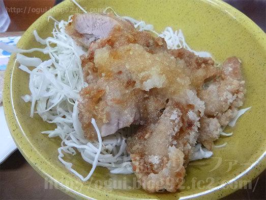 得朝定食の若鶏の竜田揚げ011