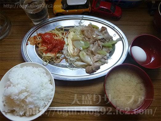 定食酒場食堂の288円定食ランチ034