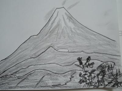 富士山、檜洞から