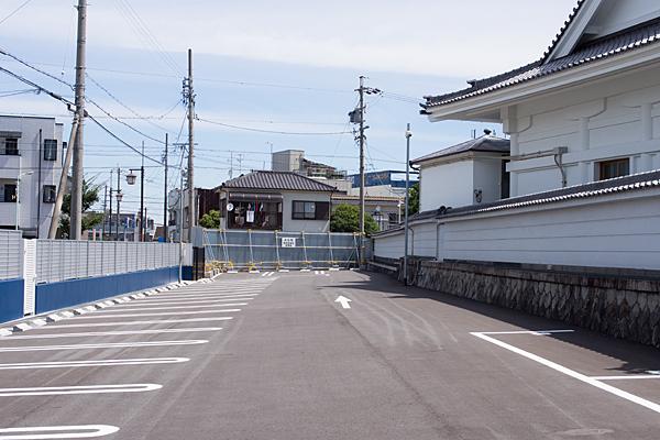 永弘院駐車場