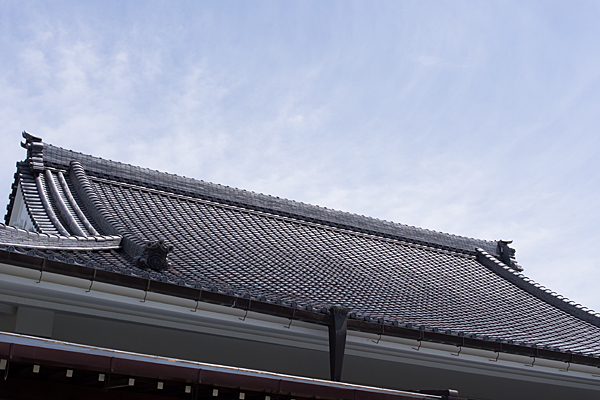 永弘院瓦屋根
