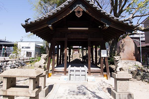 戸部下神明社拝殿