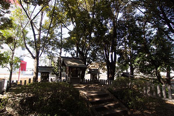加福神明社社全景