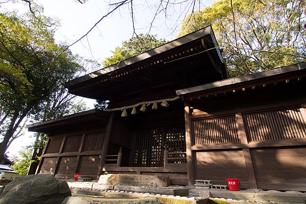 大乃伎神社祭文殿
