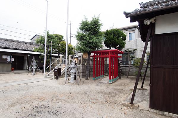 松水神社全景