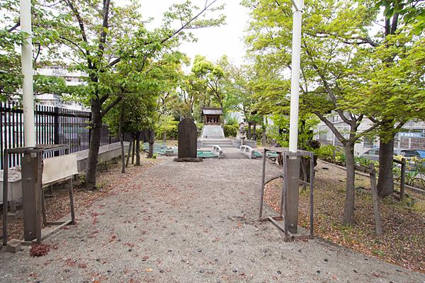 櫻ノ宮龍神境内の風景