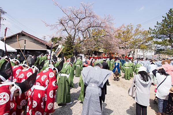 桃花祭御旅所祭