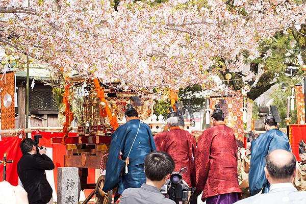 桃花祭御旅所神事