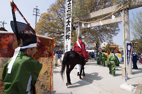 桃花祭神富士三社