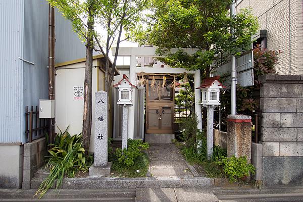 笠取町八幡社