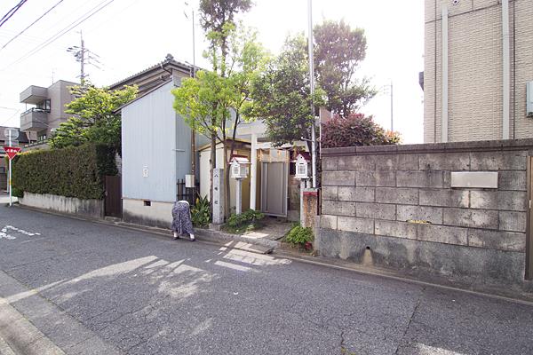 笠取町八幡社外観