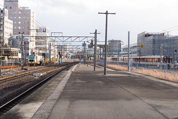 近鉄桑名駅ホーム