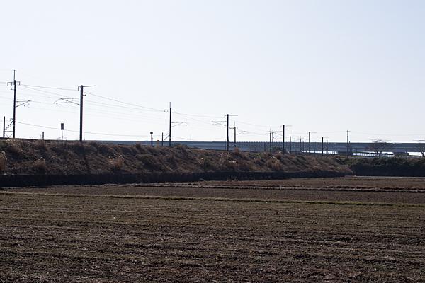 朝日町あたりの近鉄線
