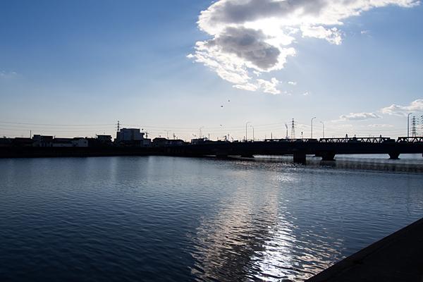 天白川河口付近