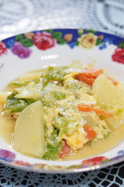 ジャガイモ・スープ