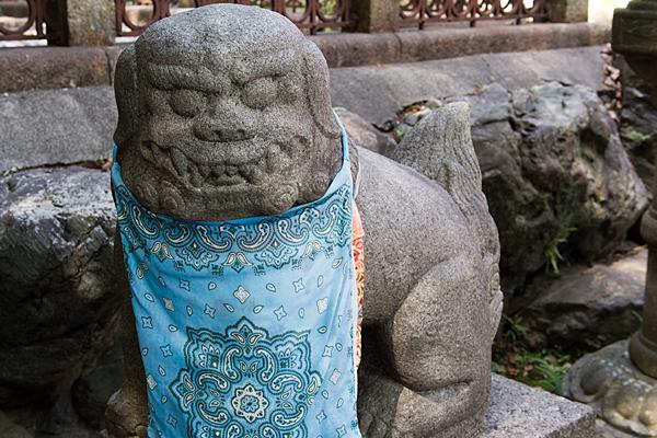 城山八幡宮狛犬