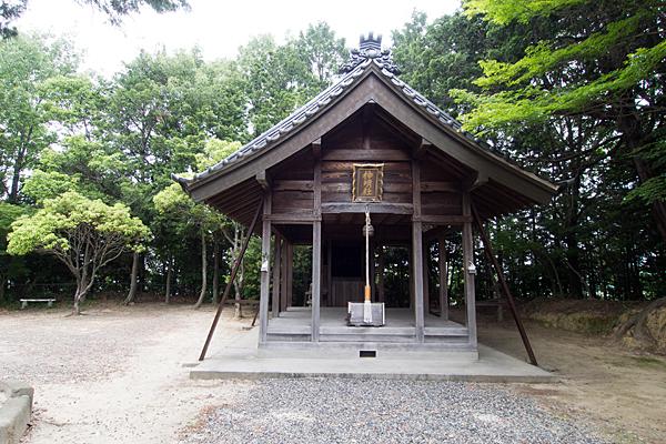 吉根神明社拝殿