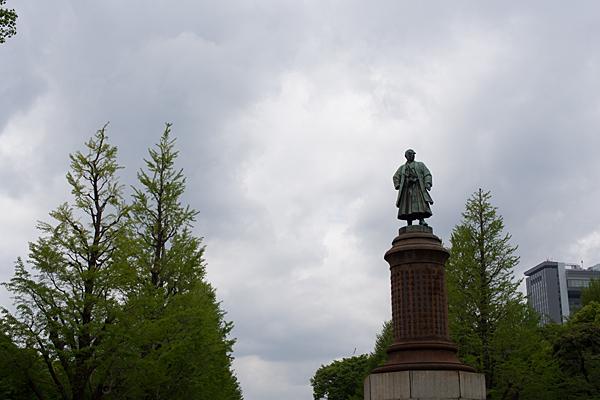 靖国神社銅像