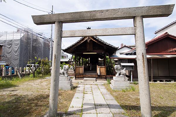 武島天神社二の鳥居
