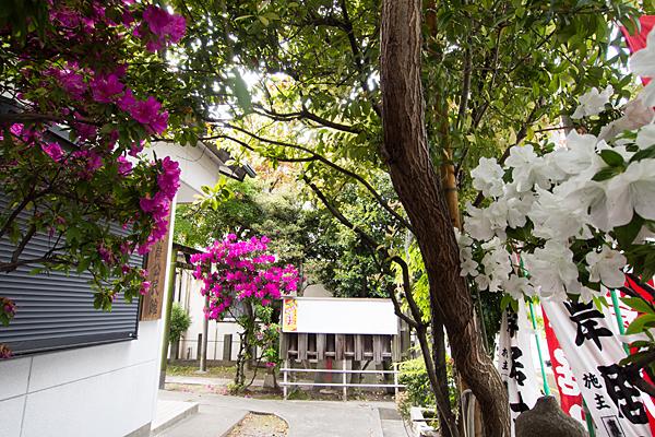 南堀越神明社と東岸居士