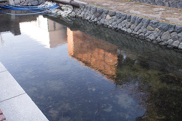 運河映り込み風景