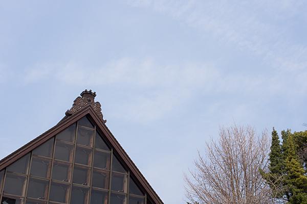 善光寺の屋根