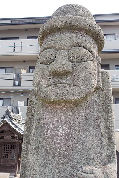 韓国の石仏