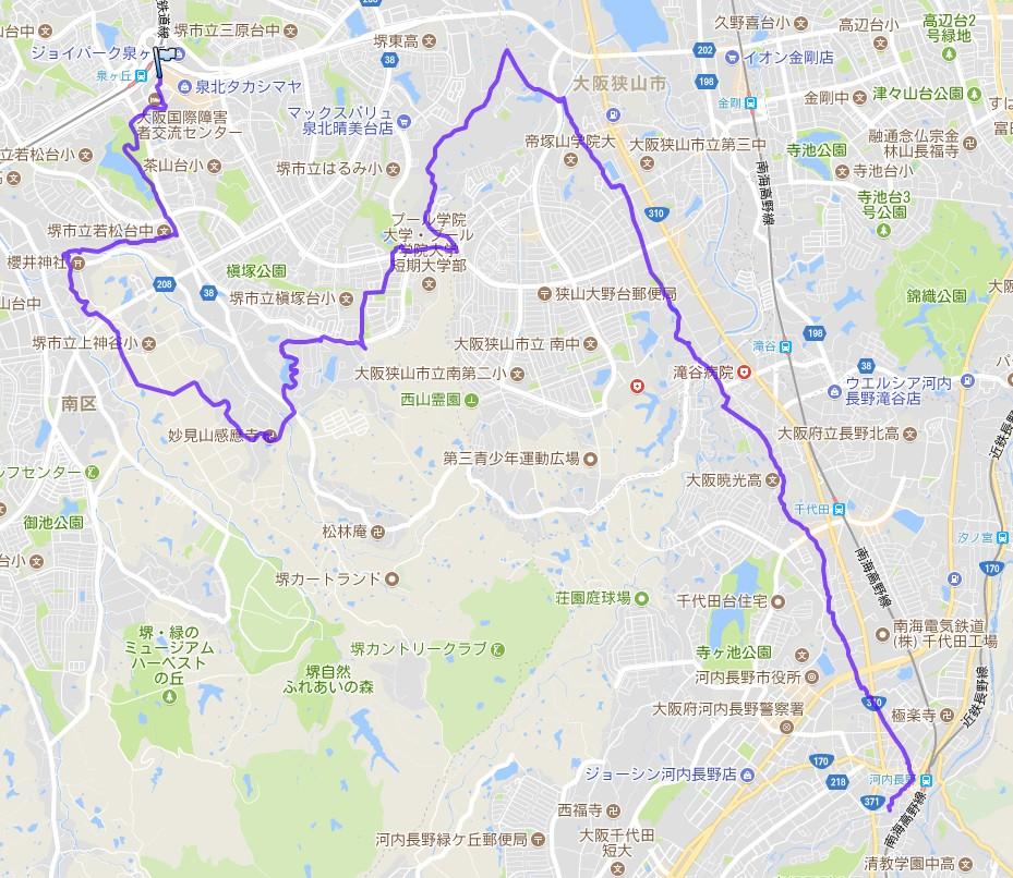 1802-00-西高野街道-I軌跡
