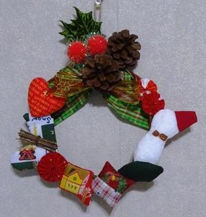 18クリスマスリース10
