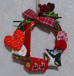 18クリスマスリース12