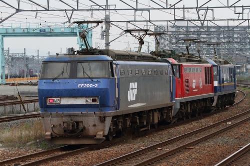 単1480レ(EF200-2+EF510-2+EF210-305) 吹田貨物タ