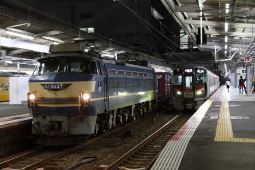 5071レ(EF66 27) 広島