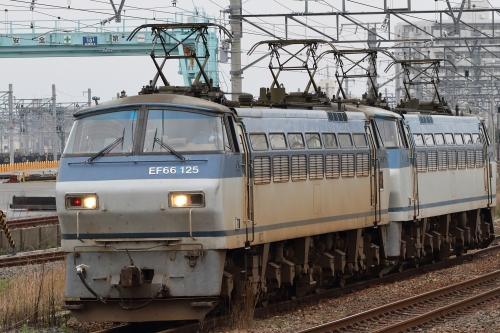 単1482レ(EF66 125+EF66 130) 吹田貨物タ