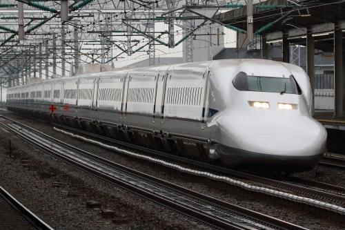 700系C53編成 臨時のぞみ 西明石駅
