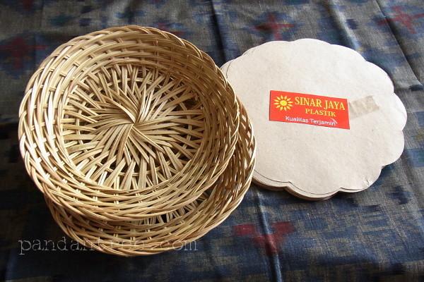 バリの編み皿インカ(ingka)