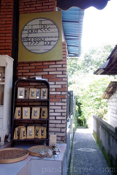 ウブドのコーヒーショップ1