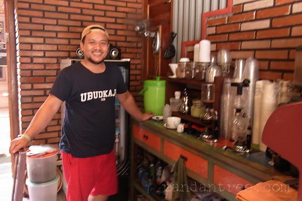ウブドのコーヒーショップ4