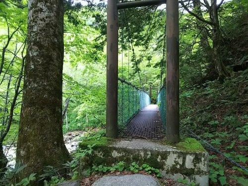 01蝶ヶ岳吊橋