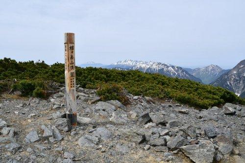 07蝶ヶ岳山頂