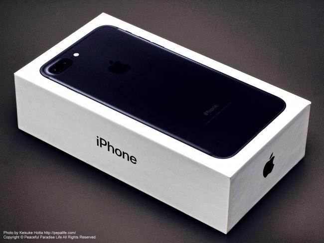Apple iPhone 7 Plusの箱
