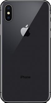iPhone X スペースグレイ